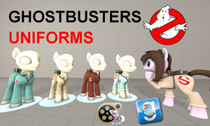 (DL) Ghostbusters Uniforms by Out-Buck-Pony