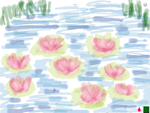 Little flower pond by Pinkie---Dash