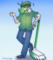 Sweep (Art trade) by Mr-Ms-Faded
