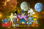 The Galactic War Phase 1 Poster by MarkHoofman