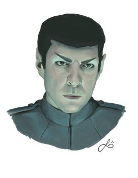 Mr. Spock by leanne-reynolds