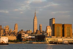 New York City Harbour by parka