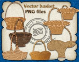 Vector basket by roula33