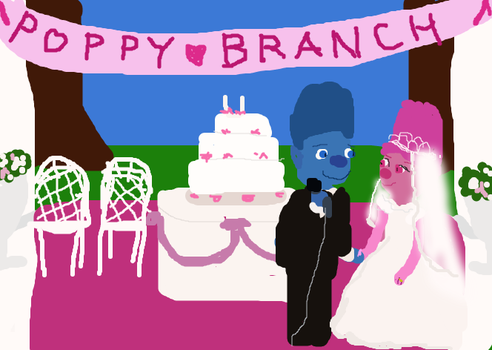 Wedding of Poppy and Branch by freacls