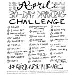 April Art Challenges - MMXVIII by funnkymonkey303