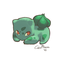 Bulbasaur by gingerbreadcat