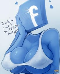 Facebook Tan by ParkdaleArt