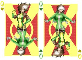 Rogue, the Queen of Hearts by teamzoth