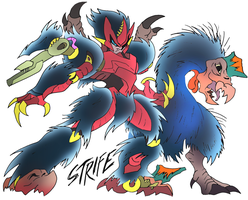 Strife- Beast Wars Future by NickOnPlanetRipple