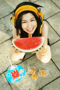 Summer's Melon by elpheal