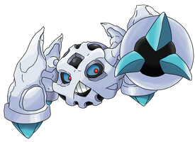 Pokemon Fusion: Glalie and Metagross