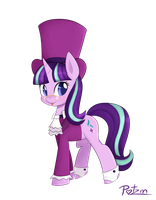 Top hat Starlight by Potzm