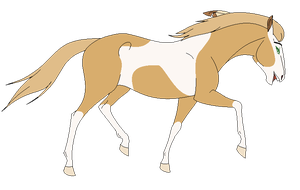 Trotting Mare - Base by Miss-Adopts