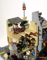 LEGO Fallout Diorama: Alternate Ending by Saber-Scorpion