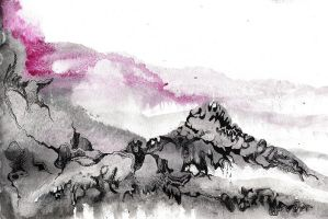 Abstract Landscape by Ariad-Arts