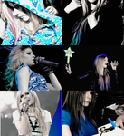 Blue Avril by Galaxy-Love