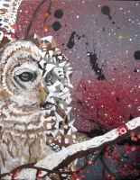 The Obstreperous Space Turf of the Oort Cloud Owl by Rayjmaraca