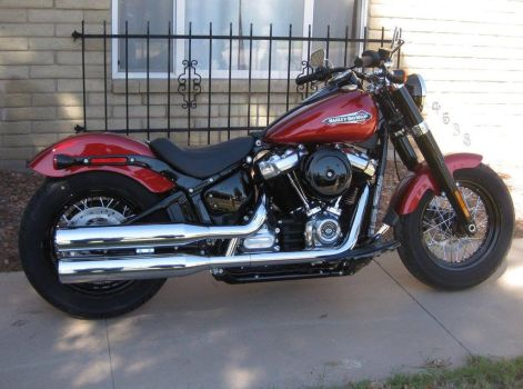 New Bike 2018 Softail Slim 02 by acurmudgeon