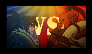 Varian VS Garrosh by cazamonster