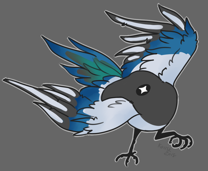 Magpie by Koiisk