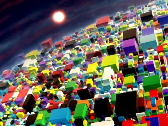 City of cubes by CyrilleGuedon