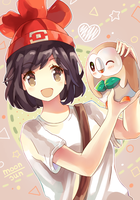 Pokemon Moon/Sun - Rowlet