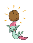 Here have a cookie~ by CrownedSpade