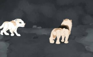 Caving 02 : Grace and Nyra by magikwolf