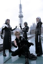 Final Fantasy VII by vingaard