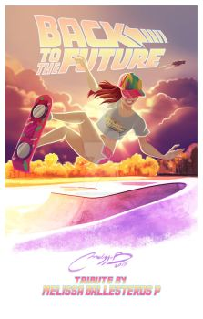 Back To The Future tribute by melivillosa