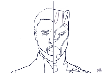 WIP | King of Wakanda by They-Call-Me-Oddy
