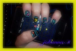 Nails: Pac_Man by hiannis12