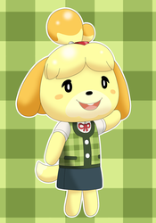 Hello Isabelle by Alex13Art