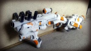 AMR-B15 Dual Plasma Velociter Cannon by KingMakerCustoms
