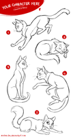 YCH - Cats [CLOSED] by Mistrel-Fox