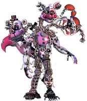 Ennard Lost Pices by shadowNightmare13
