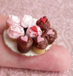 Valentine's Day Cupcakes by fairchildart