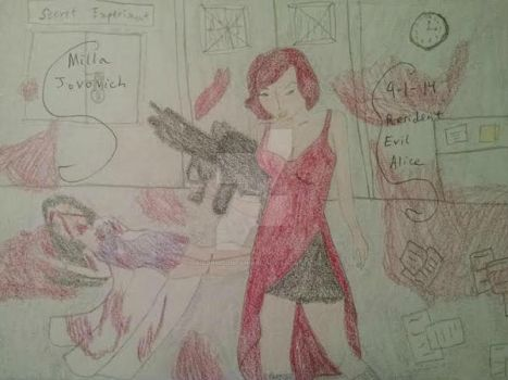 Resident Evil Alice by SailorMoonFanGirl
