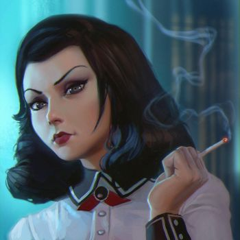 Burial at Sea Elizabeth by Kuvshinov-Ilya