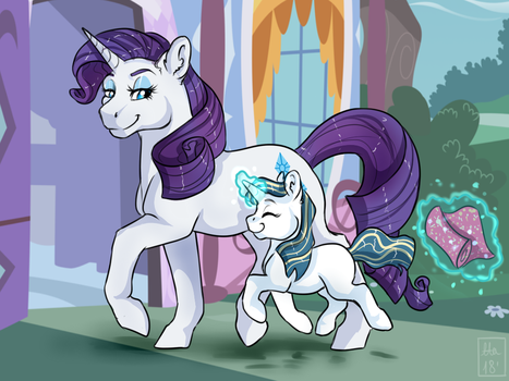 Proud Rarity by ali-selle