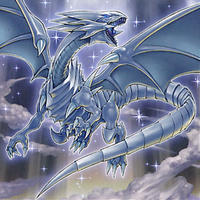 Blue-Eyes White Dragon by Youssef-Mamdouh