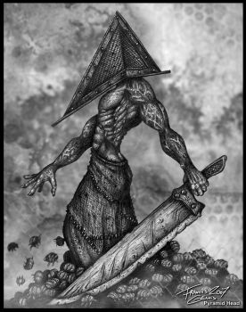 Silent Hill : Pyramid Head by Francisgenois