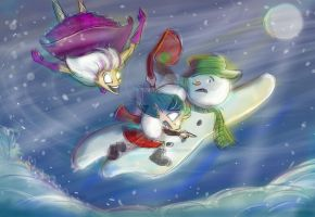Mad Munchkin Blethers about The Snowman by Mad--Munchkin