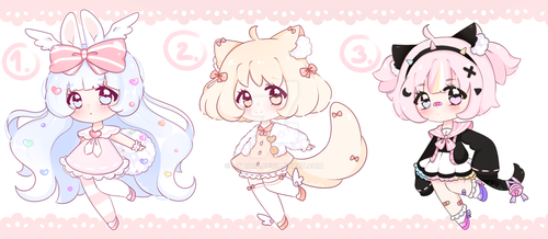 [CLOSED TY] SET PRICE CHIBI by Luludia