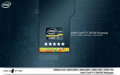 Intel Core i7 3970X Wallpaper 01 by 18cjoj