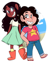 Connie n' Steven by JessiiRoo