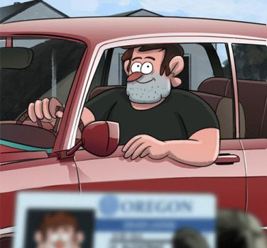 Driver's license by markmak