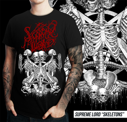 Supreme Lord T-shirt by BlackTeamMedia