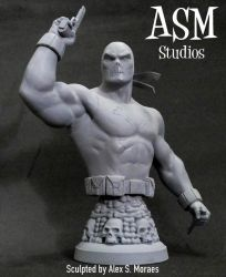 CROSSBONES MINI BUST 02 by ASM-studio