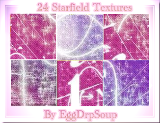 Starfield Textures by EggDrpSoup